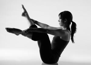 Open Leg Rocker Stretch